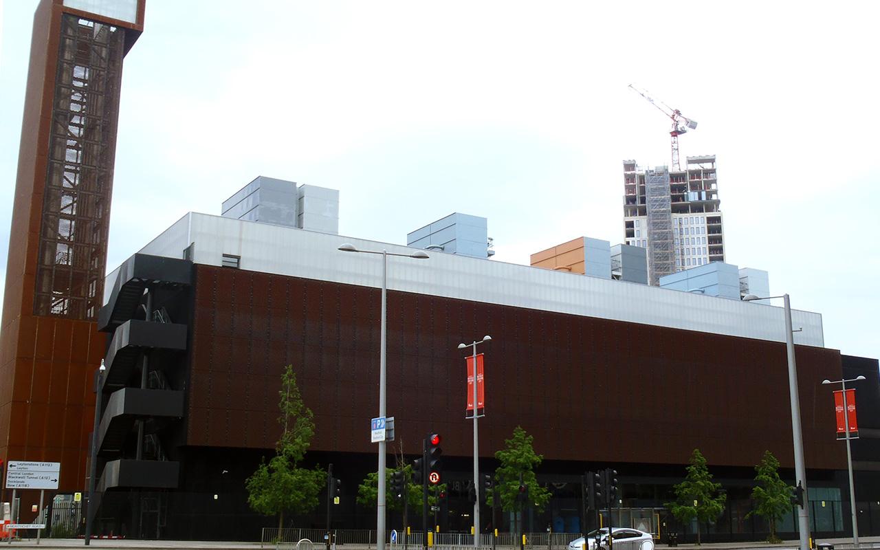 QE Olympic Park Energy Centre Stratford