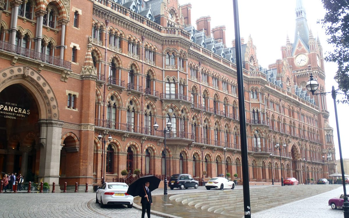 St Pancras Hotel refurbishment