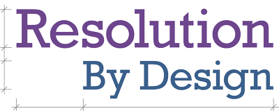 Resolution By Design Retina Logo